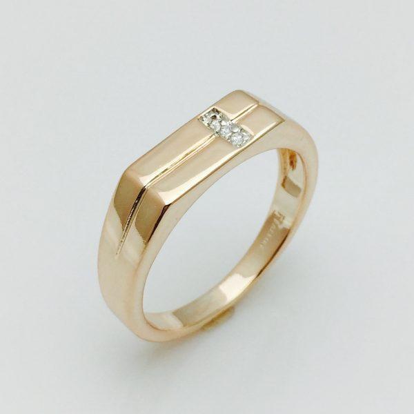 Мужское кольцо, размер 19, 21, 22