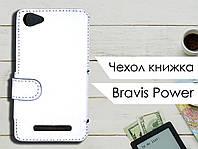 Чехол книжка для Bravis Power