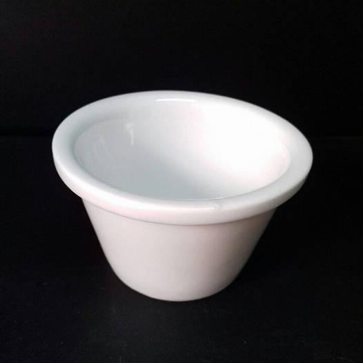 Соусник фарфор 50мл (h6, d.низ3.5,d.верх3.7)