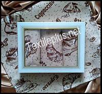 Вафельные полотенца Textile plus 3шт 35*55 Coffe (kod 3006)