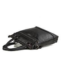 dd6576bc6f14 Вертикальная мужская кожаная сумка формата А4 черная TB 00392 купить ...