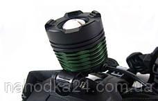 Ультрафиолетовый налобный фонарик Police BL-2188 UV, фото 3
