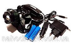 Ультрафиолетовый налобный фонарик Police BL-2188 UV, фото 2