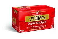 Twinings English Breakfast Чай черный в пакетиках 25 шт. (Великобритания)