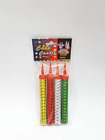 Свечи-фейерверк для торта цветные 12 см
