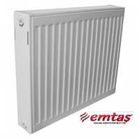 Стальной радиатор отопления EMTAS тип22 500Х1100