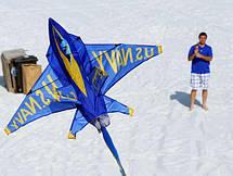Воздушный змей WindnSun синий ангел 1020 х 910 мм , фото 2