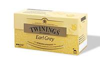 Twinings Earl Grey Чай черный с бергамотом в пакетиках 25 шт. (Великобритания)