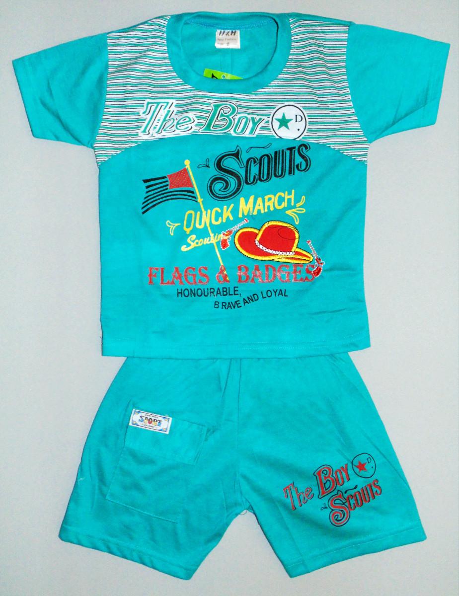 Мятные детский костюм на 1 - 5 лет - Интернет магазин одежды «Milan» в Луганской области