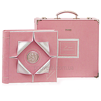 Фотоальбом Prezioso 33*33 см розовый