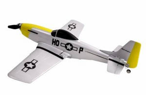 Самолет Nine Eagles P-51 Mustang RTF 400 мм 2,4 ГГц , фото 2