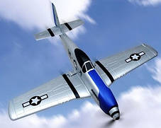 Самолет Nine Eagles P-51 Mustang RTF 400 мм 2,4 ГГц , фото 3