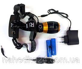 Налобный ультрафиолетовый фонарь Police T620-2 , фото 2