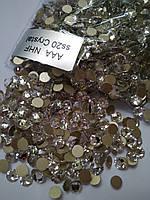 Стразы клеевые копия Swarovski SS20 (5,0 мм) Crystal NonHotFix, 16 граней. Цена за 144 шт