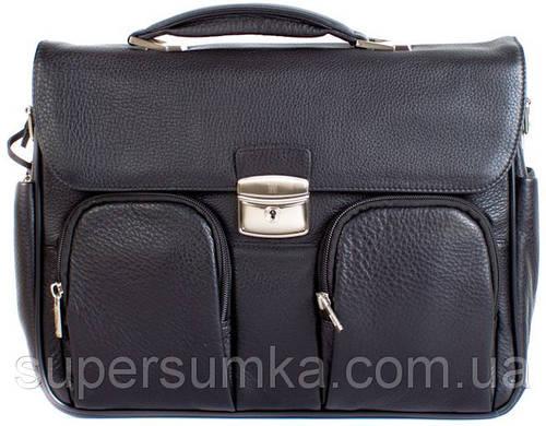 Портфель деловой кожаный мужской Wanlima W50013700260