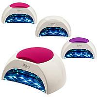 UV/LED ЛАМПА SUN 2 ДЛЯ НОГТЕЙ 48W (розовая,фиолетовая, белая)