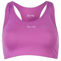 Розовый женский топ для фитнеса USAPro