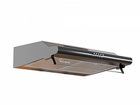 Кухонная вытяжка Borgio BHW black 50 см плоская