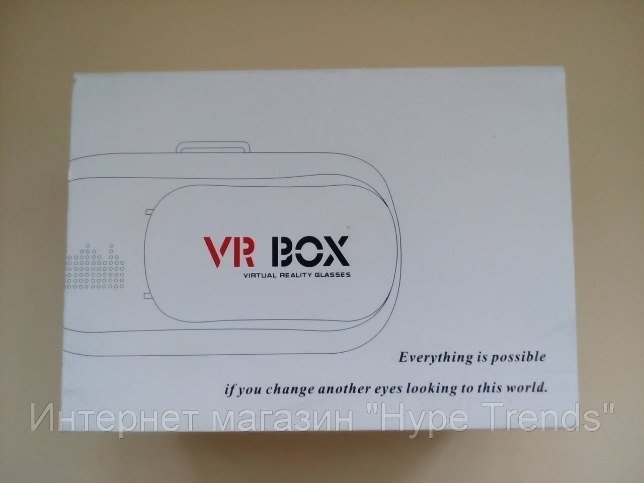 3D Очки виртуальной реальности с пультом VR BOX