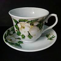 Чайная пара 220мл(фарфор)