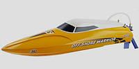 Катер Joysway Offshore Warrior Brushless RTR 450 мм 2,4 ГГц (JW9301 Yellow)