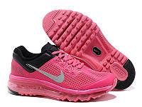 Женские кроссовки Nike Air Max 2013 розовые