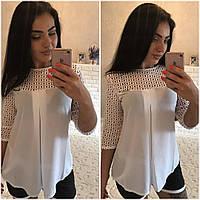 Блузка женская большие размеры (цвета) /р1509, фото 1