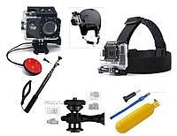 Набор аксессуаров N3 для экшн камер SJCAM, GoPro, Xiaomi, Atrix, Airon, EKEN