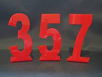 Номер на стол 120*80 мм, фото 1