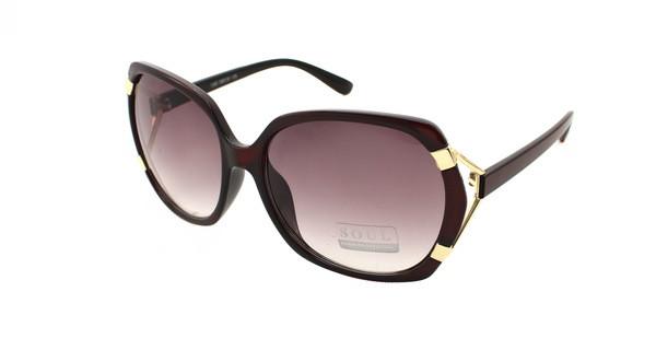 Модные солнцезащитные женские очки Soul