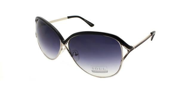 Сонцезахисні великі окуляри для жінок мода 2017 Soul