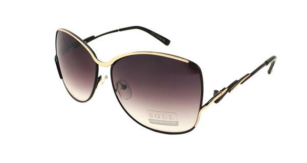 Модные поляризующие солнцезащитные очки на лето для женщин Soul