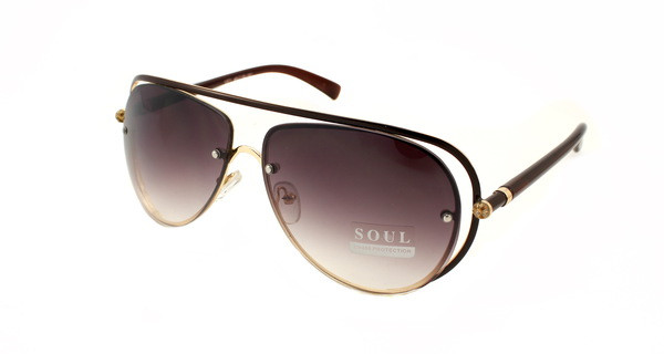 Модные женские очки авиаторы Soul