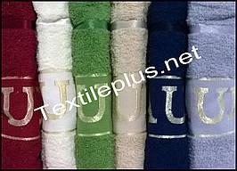 Комплект банных махровых полотенец Julie Sauna Турция
