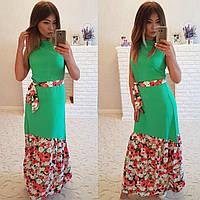 Платье женское норма и ботал  с 42 по 58 (цвета) /ат4022
