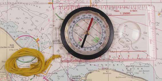 Планшетный компас для карт MFH 34203, фото 2