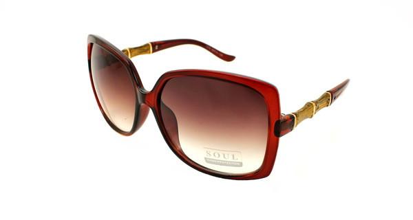 Квадратні великі жіночі сонцезахисні окуляри Soul