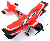 Самолет Dynam Pitts model 12 3D Brushless RTF 1067 мм 2,4 ГГц