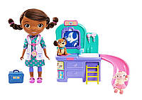 Набор доктор Плюшева ветеринарная клиника Doc McStuffins pet clinic doll