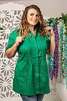 Женская блузка батал индия оптом