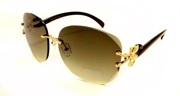 Безободковые сонцезахисні окуляри жіночі з поляризацією Soul