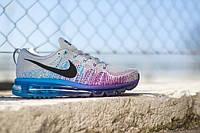 Мужские кроссовки Nike Air Max Flyknit 2014 Wolf Grey
