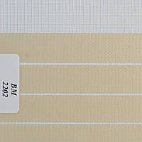 Рулонные шторы День Ночь Ткань Зебра ВМ-2202 Персик