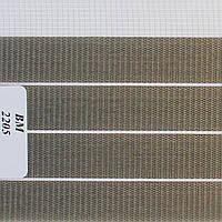 Рулонные шторы День Ночь Ткань Зебра ВМ-2205 Графит