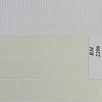Рулонные шторы День Ночь Ткань Зебра ВМ-2206 Слоновая кость