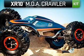 Автомобиль Axial XR10 Rock Crawler Competition 1:10 KIT 4WD