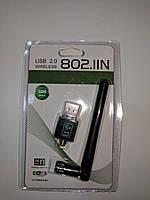 USB WI-FI Адаптер WF-2 802.IIN, (Wi-Fi свисток для беспроводной передачи данных по Wi-Fi - до 300Мбит/с )