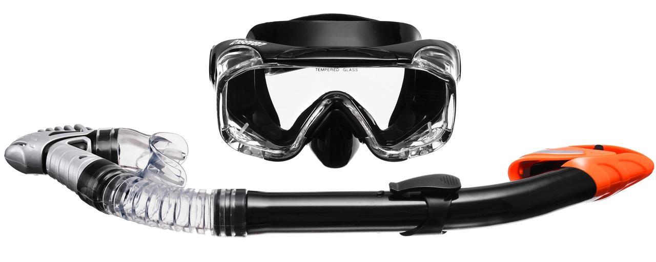 Набор для плавания маска + трубка TRISEVEN