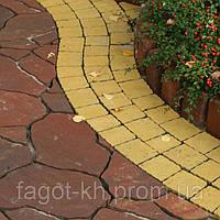 Тротуарная плитка Квадра Песчаник, фото 1
