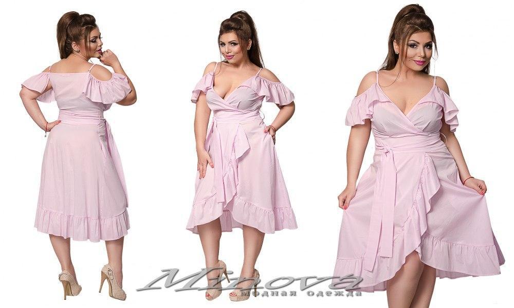 Женское летнее лёгкое батальное платье  - Enigma Shop интернет-магазин женской одежды в Одессе